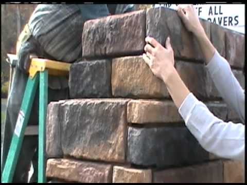 This video shows the assembly of one of our outdoor fireplace kits. http://www.exceptionalstone.com/shop/50-outdoor-fireplace-kit-with-22x16-firebox/ 50 Inch...
