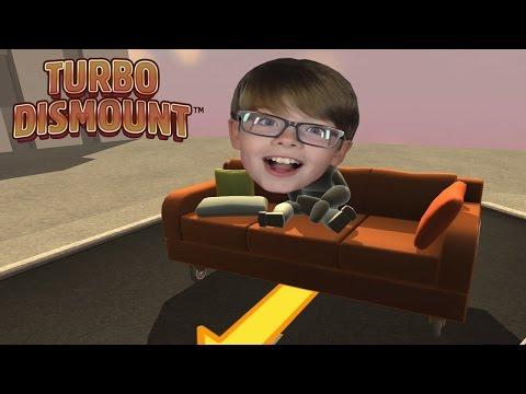 Thumbnail: FALLING OFF A CLIFF ON A SOFA! Turbo Dismount | Steam Game