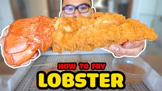 How to FRY LOBSTER