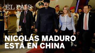 El presidente venezolano Nicolás Maduro está de gira en China hasta este domingo