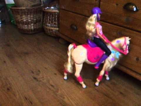 barbie walking horse instructions