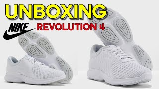 UNBOXING AND REVIEW OF NIKE REVOLUTION 4