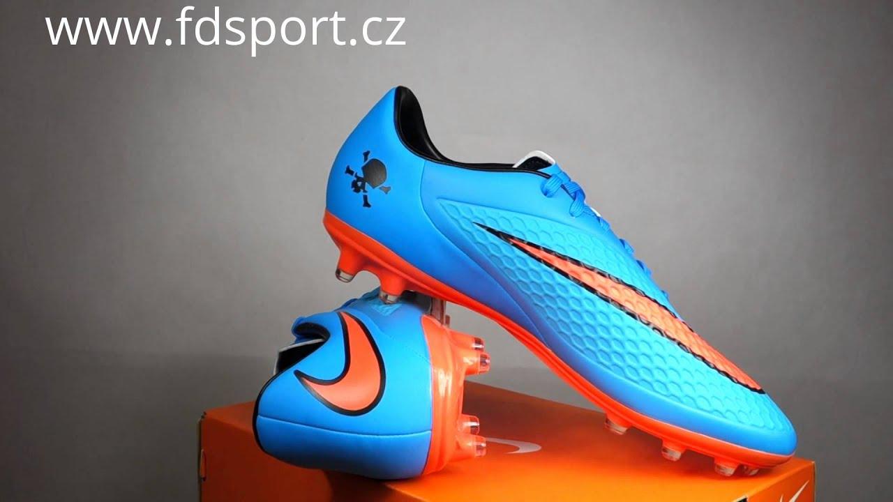 593305566 Fotbalové kopačky Nike HYPERVENOM PHELON FG 599730-484 - YouTube