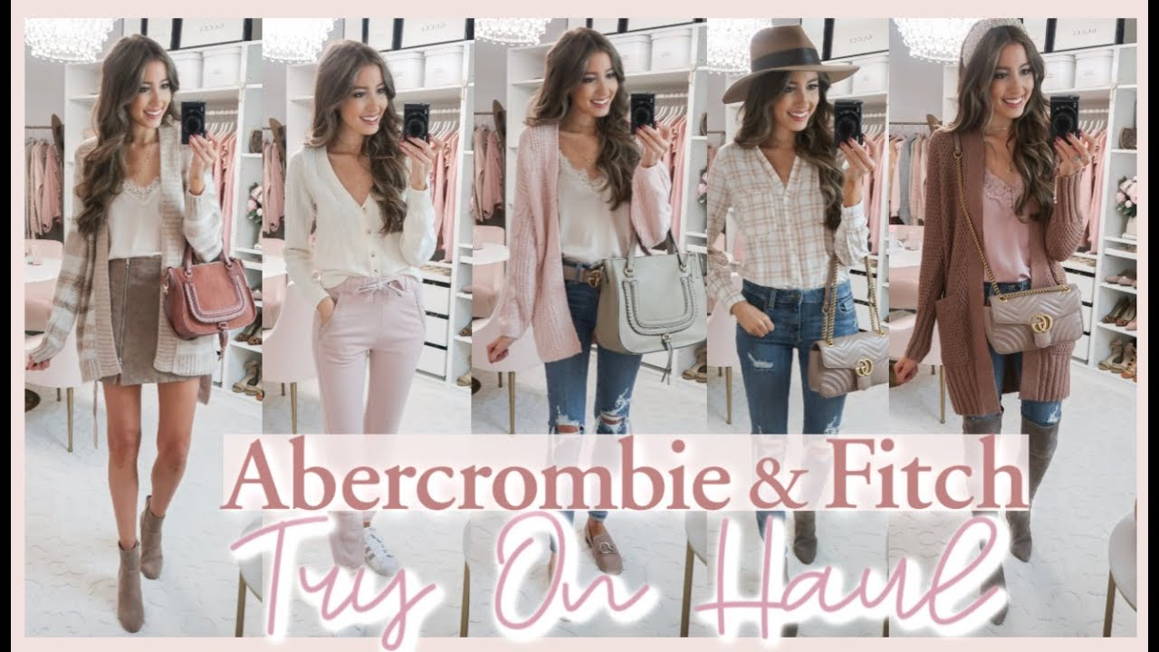 Abercrombie Try On Haul Fall 2019 Fall Outfit Ideas