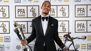 Virgil Van Dijk named PFA Player of the Year | 'It's an honour and a privilege'