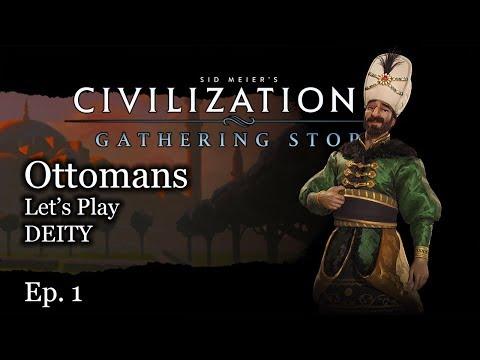 #1 Let's Play Civ 6 Ottomans - Civilization VI Gathering Storm