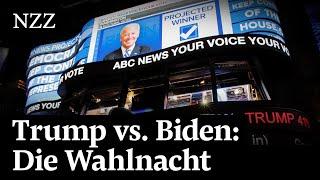 Trump gegen Biden: So spannend verläuft die grosse Wahl in den USA