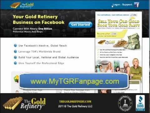 The Gold Refinery Facebook Fanpage Creator Tutorial