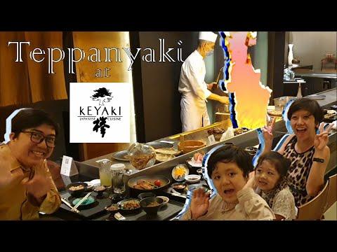 Teppanyaki Experience At Keyaki Japanese Restaurant, Pan Pacific Hotel Singapore