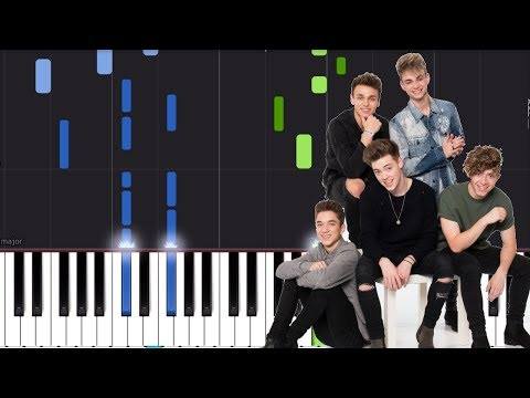 Why Dont We - Talk  Piano Tutorial - Chords - How To Play - Cover
