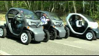 Renault Twizy test drive Mortefontaine