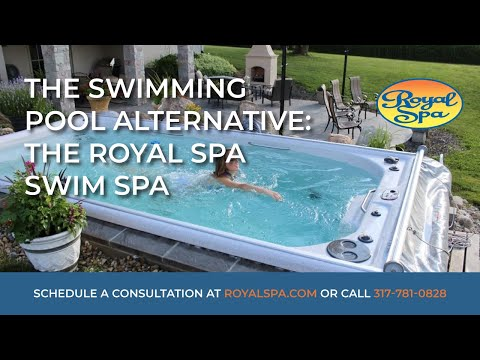 Swimming Pool Alternative - Royal Spa Swim Spa