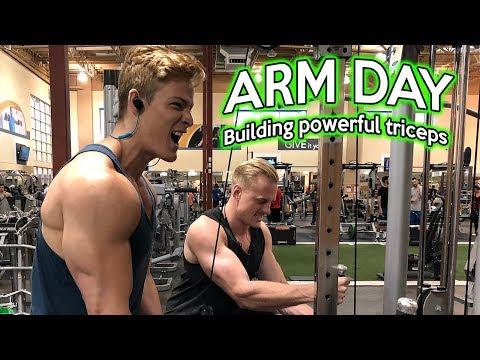 ARM DAY | POWERFUL TRICEPS