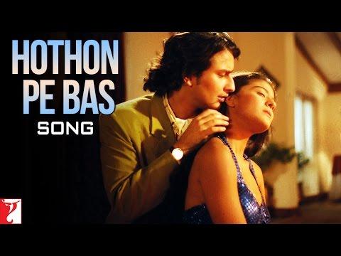 Hothon Pe Bas Song | Yeh Dillagi | Saif Ali Khan | Kajol | Lata Mangeshkar | Kumar Sanu