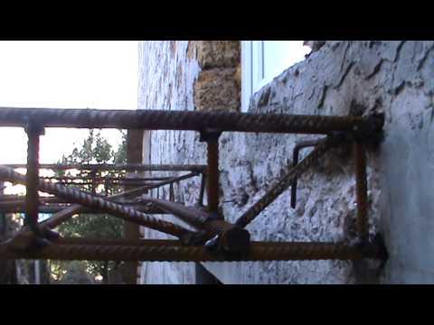 Навесной балкон на даче (строительство навесного балкона)
