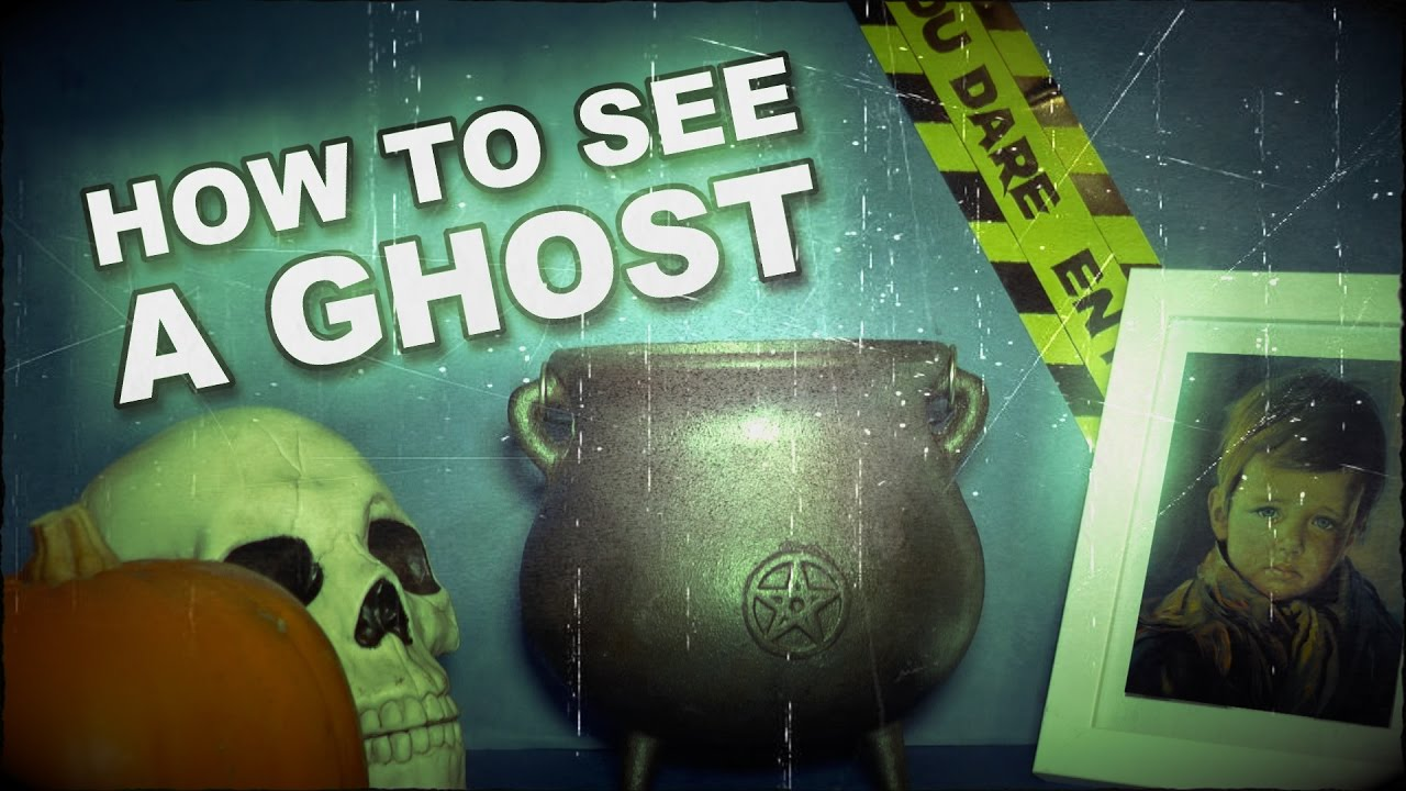 how to see a ghost at halloween ritual youtube