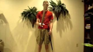 Carbon Steel Viking Sword