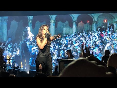 Crown - Camila Cabello (First time live) Never Be The Same Tour Vancouver 2018