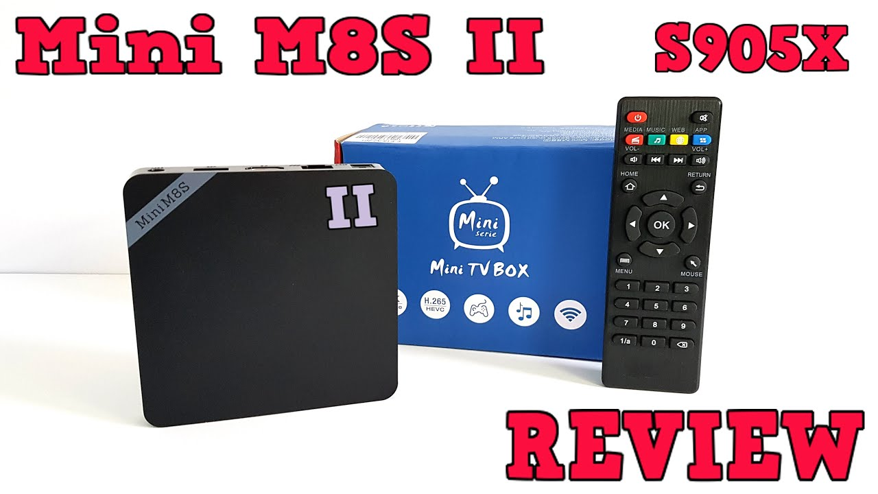 Mini M8s Ii Tv Box Review Amlogic S905x Android 601