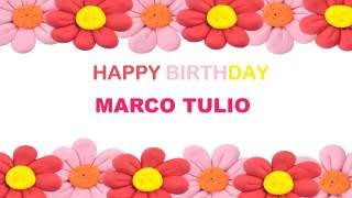 Marco Tulio   Birthday Postcards & Postales - Happy Birthday