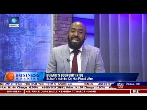 Nigeria's Economy: 2018 Has Being A Better Year - Economist |Business Morning|