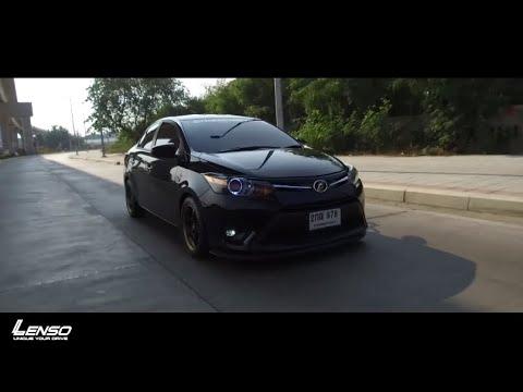 Toyota Vios 2013 เติมล้อแม็กPROJECT D-ALPHA