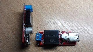 видео Самодельный источник питания USB в машине