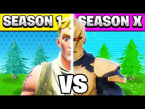 FORNITE but the SEASON is *RANDOM*!