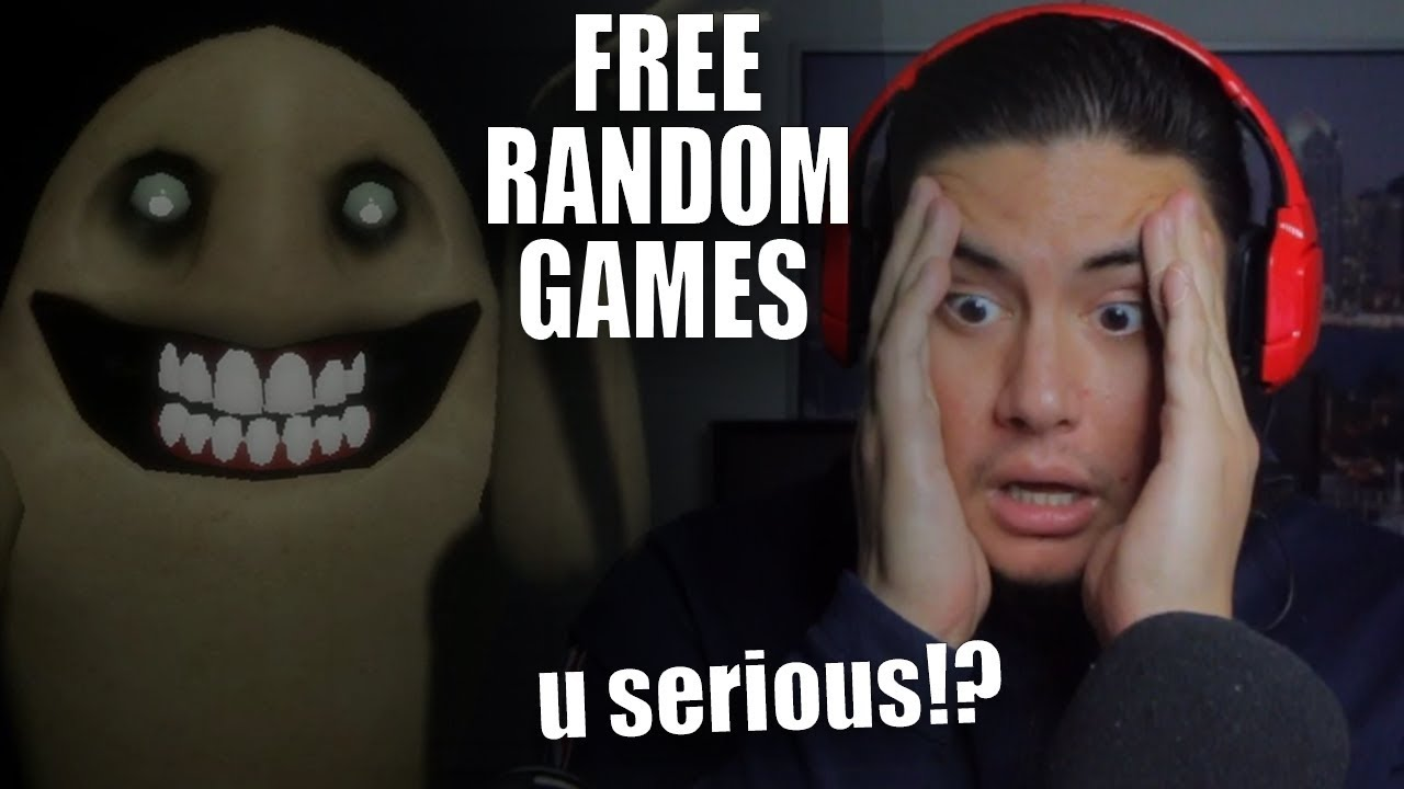 CLOSING YOUR EYES NEVER MAKES THE MONSTER GO AWAY | Free Random Games