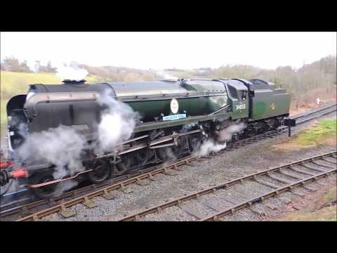Severn Valley Railway Festive Season Service 01/01/2018