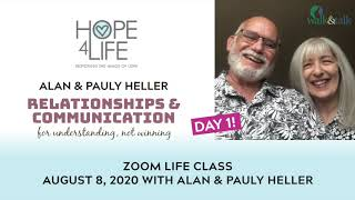 Day 1 of Alan & Pauly Heller at Hope4Life