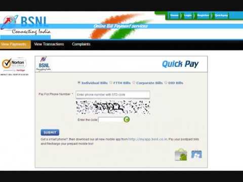 How To Pay BSNL Bill Payment | BSNL Portal - Online