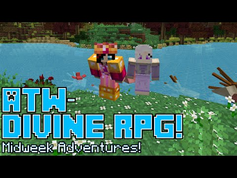 ATW: Divine RPG ☻28☻SQUINKS AND PYRAMIDS!☻Minecraft PC