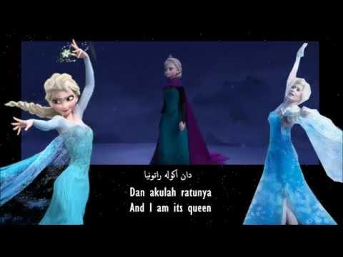 [HQ] Frozen | Let It Go / Bebaskan (Malay/Bahasa Malaysia) (Lyrics and Translation) [S&T]
