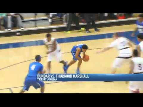 Dunbar Too Much For Rival Thurgood Marshall