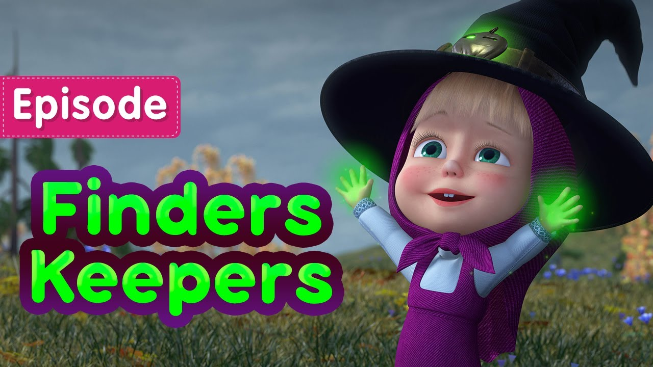 Download Masha and the Bear 🎃 Finders Keepers 🧙 (Episode 86) 💥 New episode! 🎬