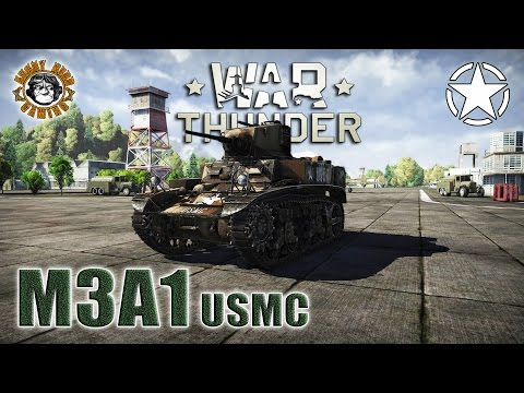 War Thunder: M3A1 (USMC), American Tier-1 Light Tank