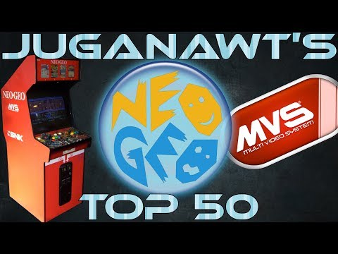 Top 50 Neo Geo Arcade Games of All Time! (in 4k 60fps)