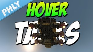 Hover Battle Tanks (Crossout New Weapons & Faction)