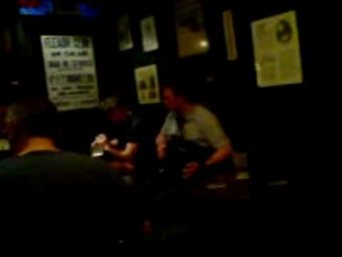 Irish Trad Session in a pub in Kilrush Co Clare