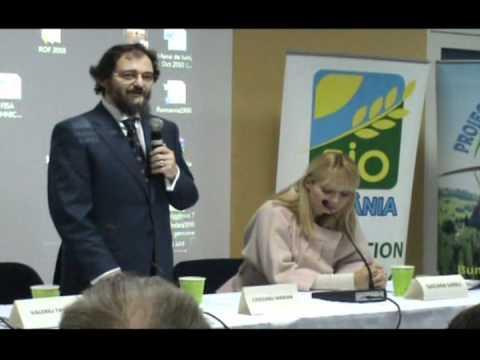 Deschidere Romanian Organic Forum 2010   Marian Ciocianu