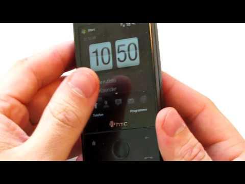 HardReset Reset / Zuruecksetzen HTC Touch Pro ( Hard Reset )