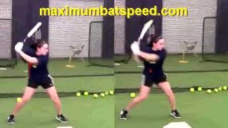Sierra Romero-Amazing Hitting Mechanics Regardless Of Pitch