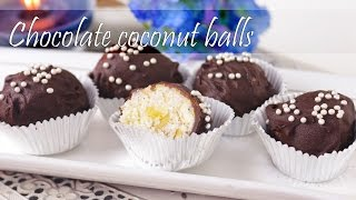 Chocolate Coconuts Bolls With Nuts And Milkmaid By Crazy4veggie.com