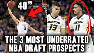 The 3 Most Underrated Prospects In The 2018 NBA Draft