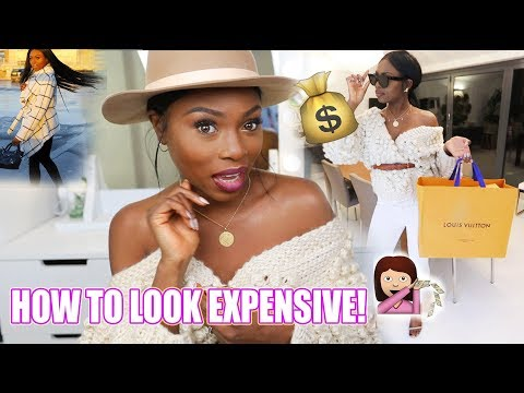 HOW TO LOOK EXPENSIVE & BOUJEE WHEN YOU'RE BROKE AND SAVING FOR 2018!