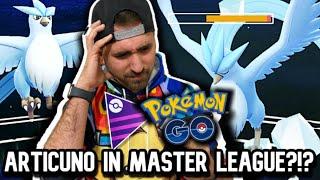 Is ARTICUNO GOOD in MASTER LEAGUE? : GO BATTLE LEAGUE   Pokemon GO