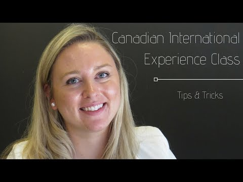 Canadian International Experience (IEC) Program