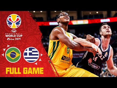 Brazil V Greece Decided By A Single Point! - Full Game - FIBA Basketball World Cup 2019