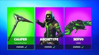"NEW ""ARCHETYPE"" GAMEPLAY! NEW SKIN UPDATE FORTNITE"